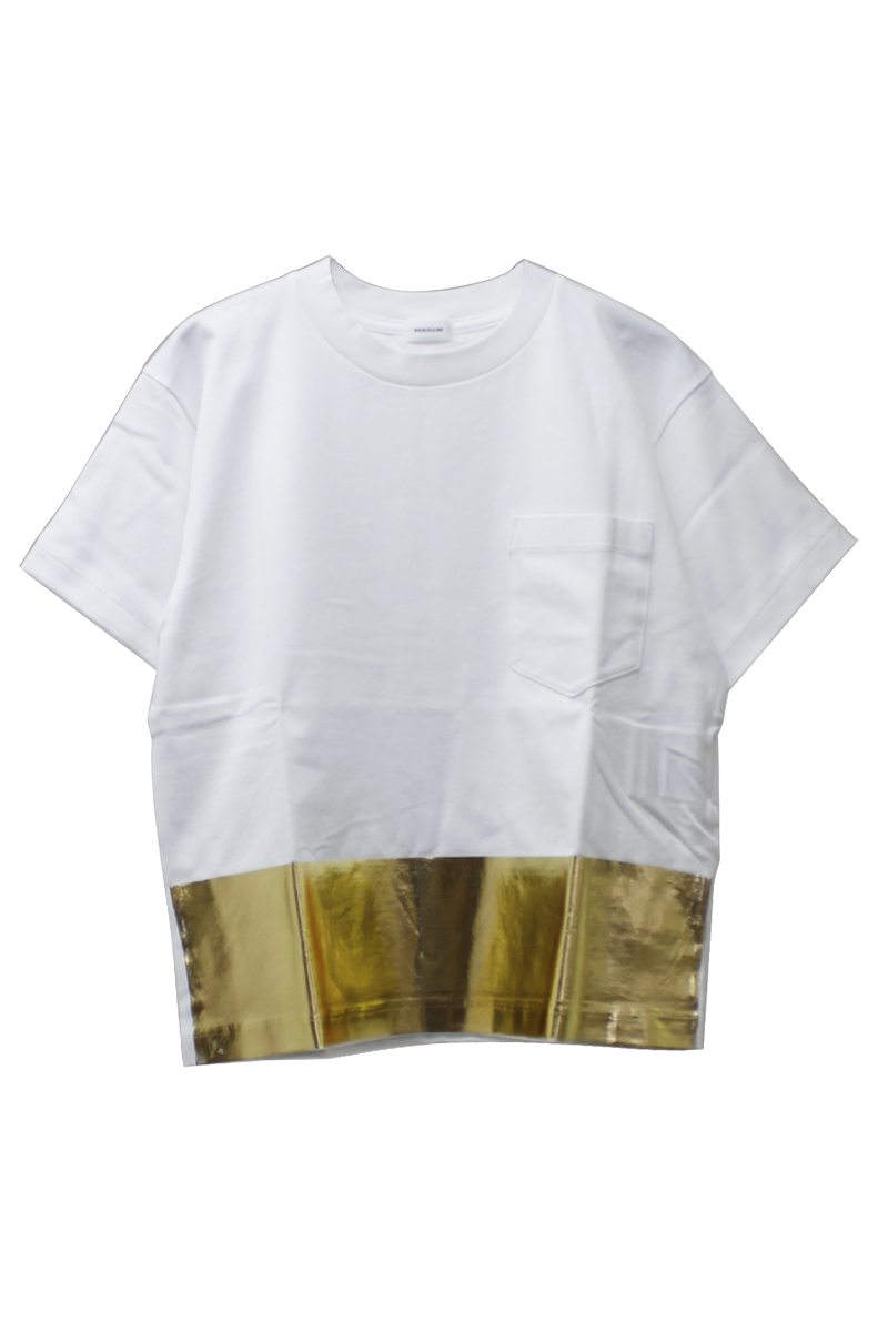 箔プリントTシャツ【18SS】