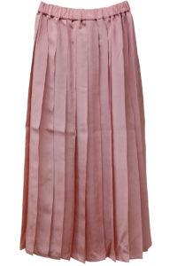 SARA LANZI 【TIME SALE - 70%OFF】ビスコースプリーツロングスカート