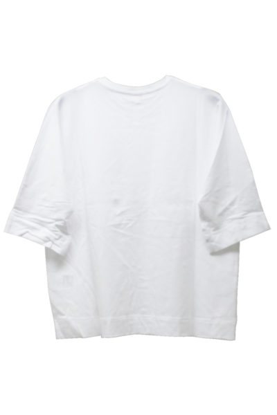 DEMYLEE コットンフロントポケット5分袖カットソー【18SS】