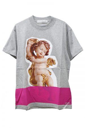 GOLDEN GOOSE DELUXE BRAND エンジェルフォトプリントTシャツ