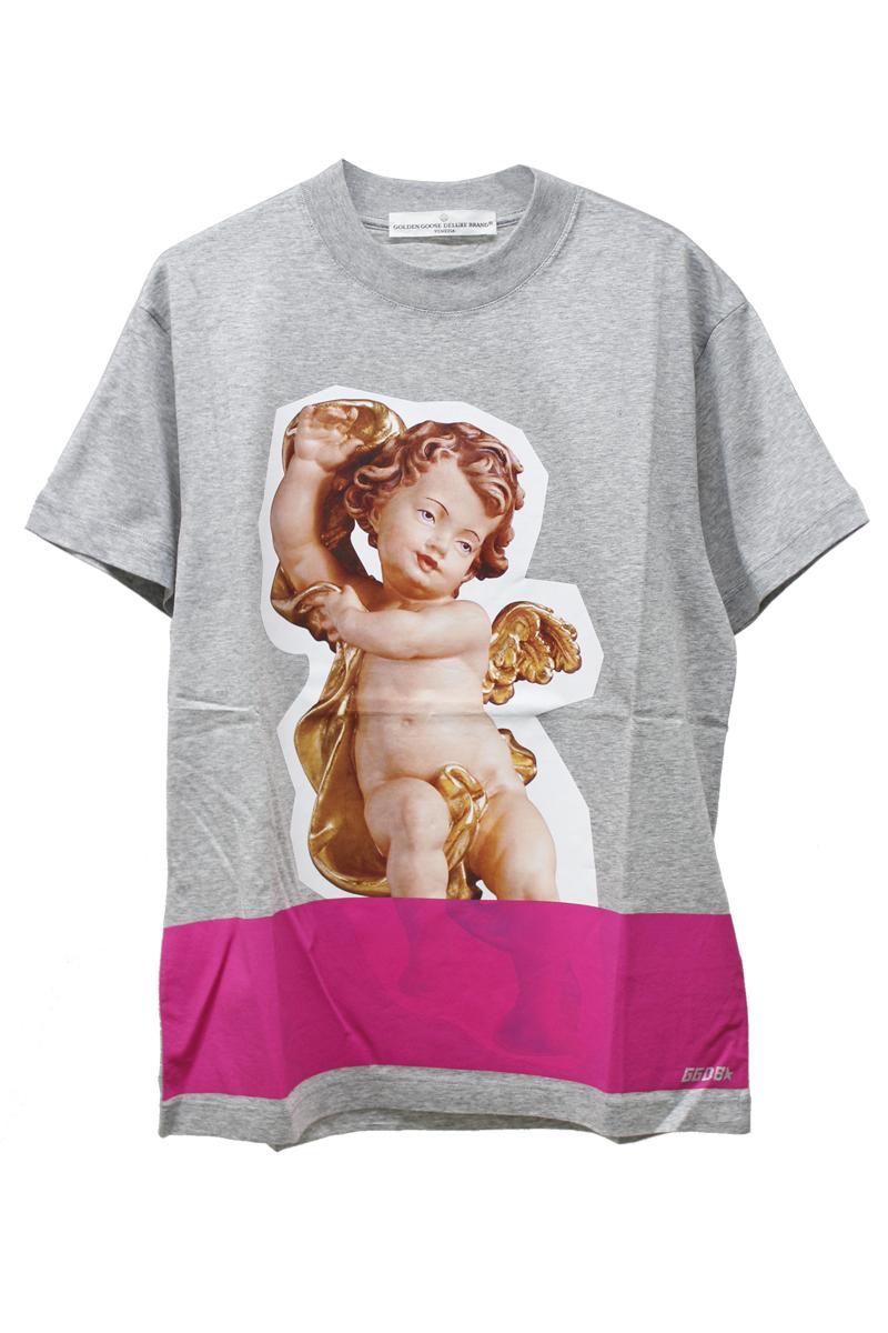 GOLDEN GOOSE DELUXE BRAND 【50%OFF】エンジェルフォトプリントTシャツ