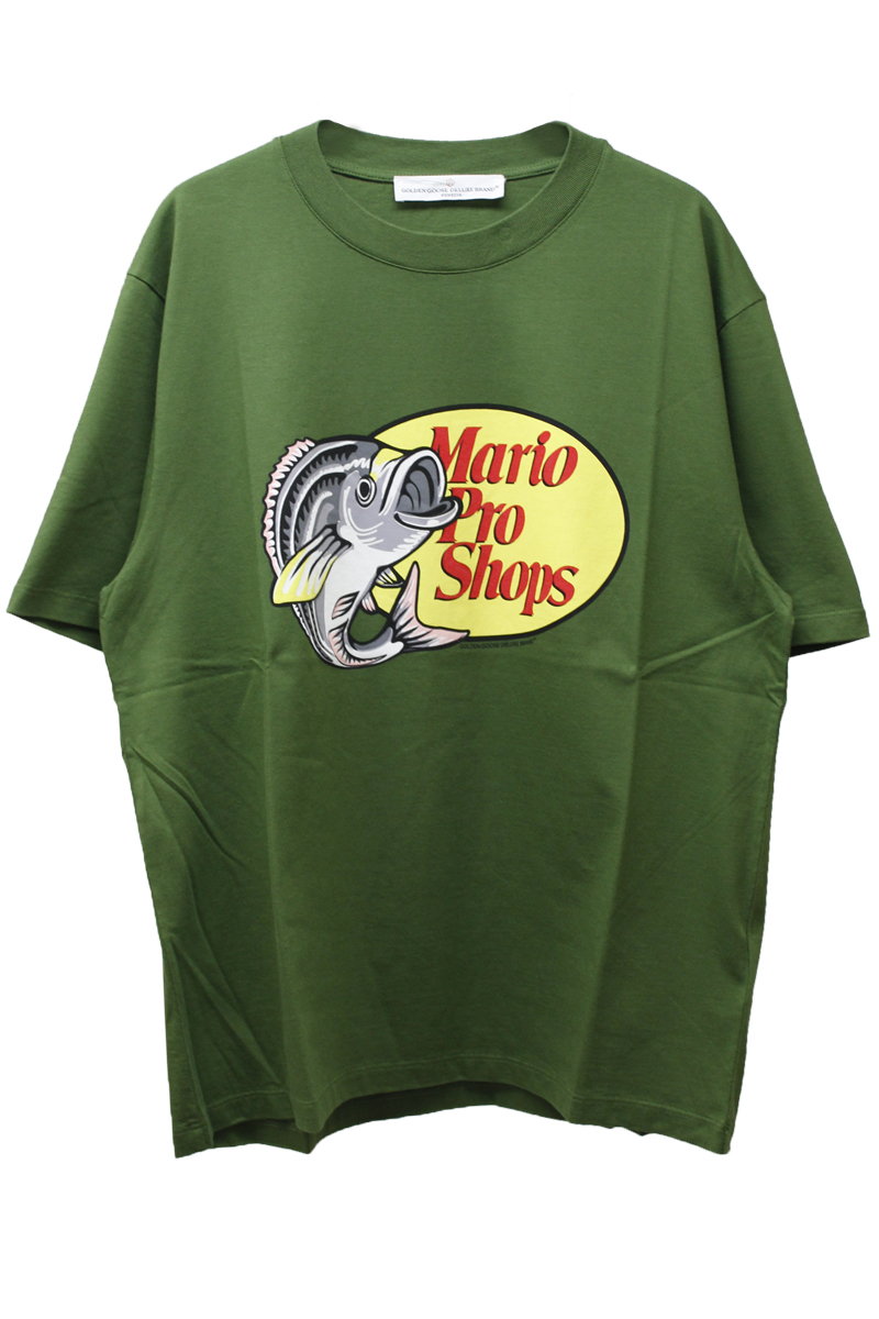 【40%OFF】フィッシュプリントTシャツ