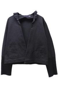 HARVEY FAIRCLOTH 【40%OFF】フリルカラーボタンレスジャケット