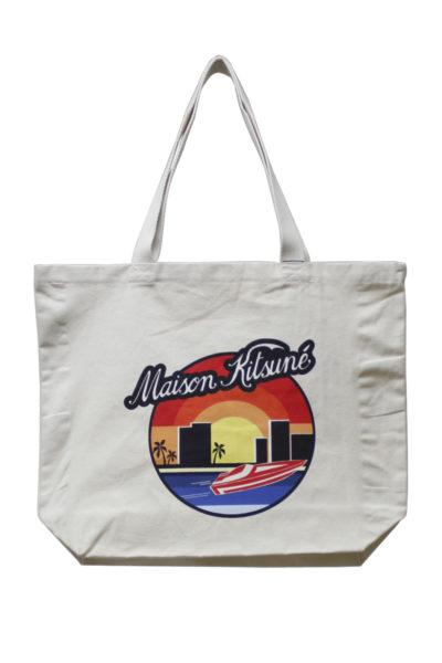 MAISON KITSUNÉ サンセットトートバッグ【18SS】