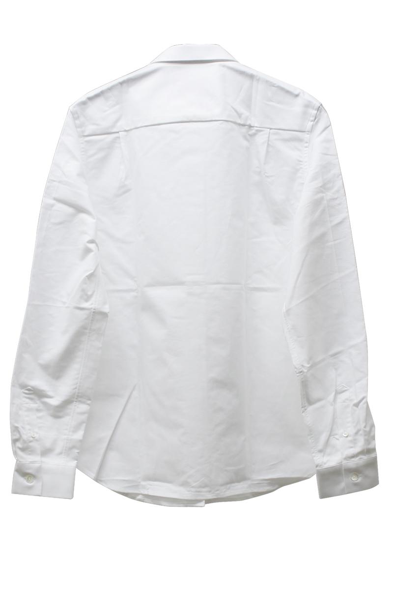 MAISON KITSUNÉ FOXトリコロールワンポイントシャツ