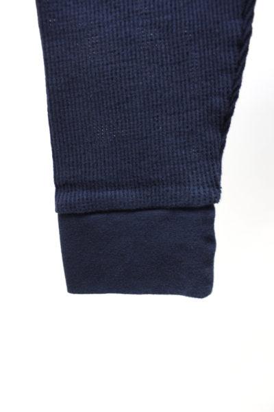 MAISON KITSUNÉ フロントロゴ刺繍長袖メッシュカットソー【18SS】