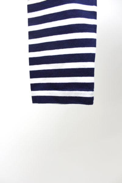 MAISON KITSUNÉ 【40%OFF】トリコロールワンポイントボーダー長袖Tシャツ 【18SS】