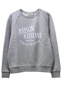 MAISON KITSUNÉ 【40%OFF】MAISON KITSUNEロゴスウェットトップス【18SS】