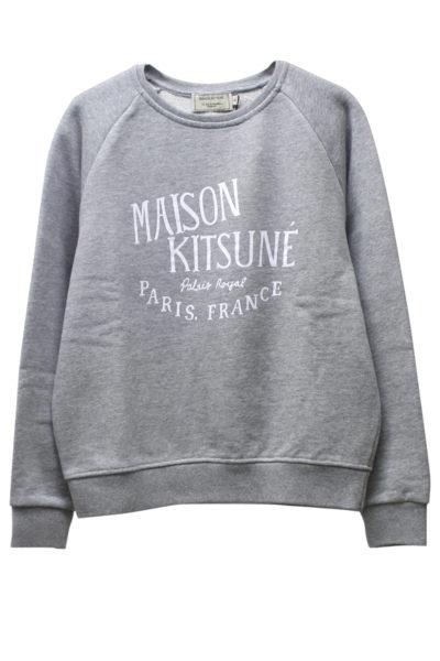 MAISON KITSUNÉ MAISON KITSUNEロゴスウェットトップス【18SS】