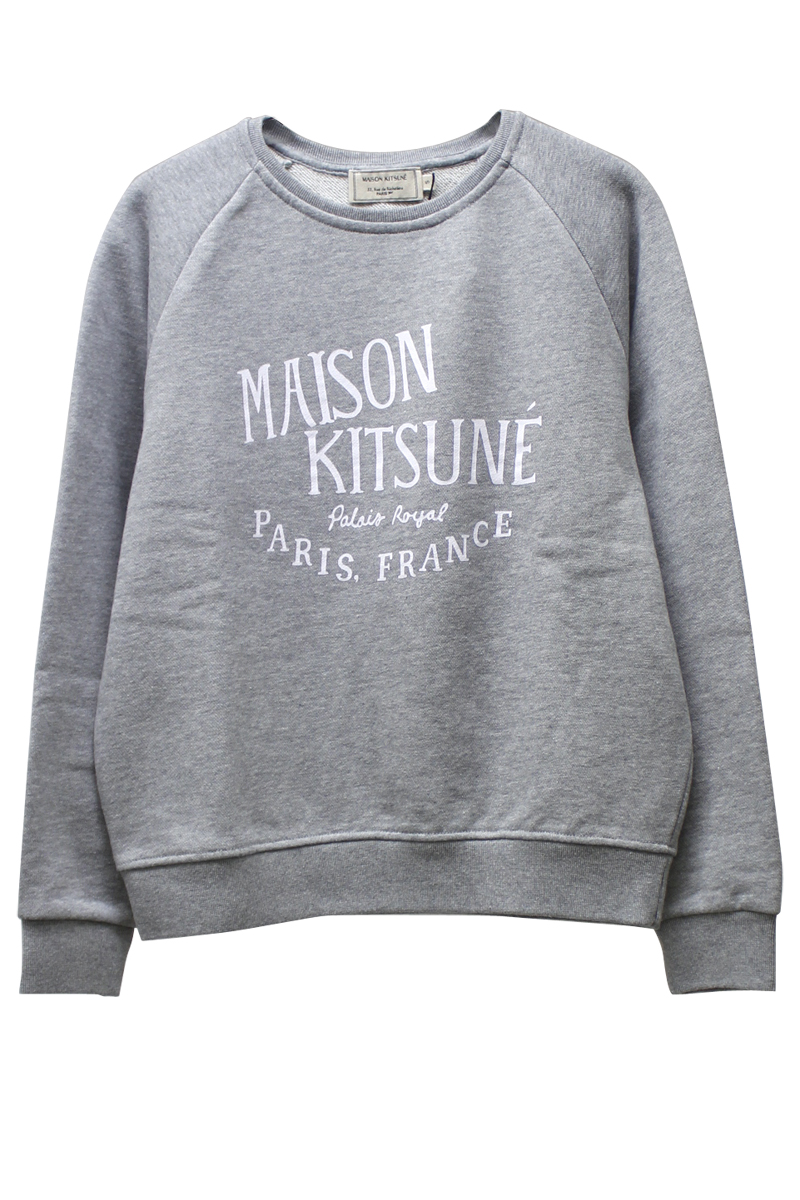 MAISON KITSUNEロゴスウェットトップス【18SS】