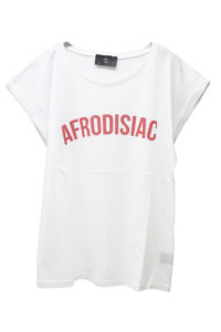 MAISON Olga AFRODISIAC Tシャツ【18SS】