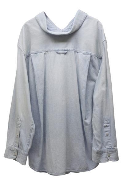 BALENCIAGA 【V】デニムビッグシャツ [18SS]