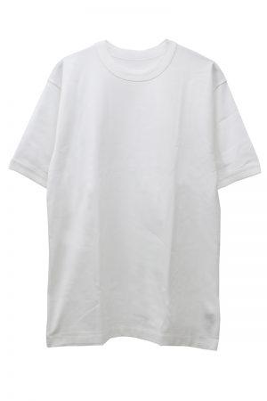 MAISON EUREKA ギザコットンプレーンTシャツ [18SS]