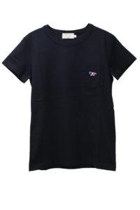 MAISON KITSUNÉ 【50%OFF】トリコロールFOXワンポイントTシャツ【18SS】