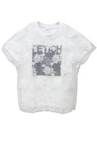 REKISAMI レースレイヤードTシャツ【18SS】