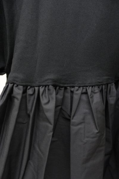 REKISAMI バックフリルプリントTシャツ【18SS】