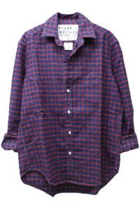 FRANK & EILEEN コットン格子チェックシャツ【18SS】