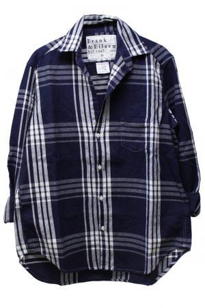 FRANK & EILEEN コットンチェックシャツ【18SS】