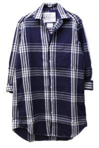 FRANK & EILEEN 【40%OFF】コットンチェックロングシャツ