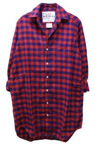 FRANK & EILEEN 【40%OFF】コットンブロックチェックロングシャツ