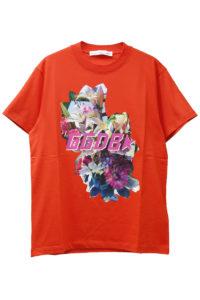 GOLDEN GOOSE DELUXE BRAND 【50%OFF】フォトフラワープリントTシャツ【18SS】