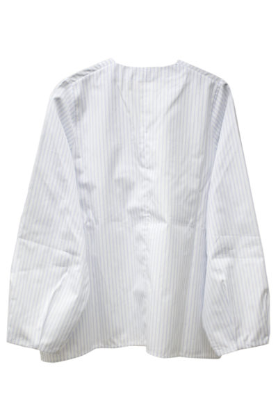 IN-GRID 【50%OFF】ストライププリーツカフシャツ【18SS】
