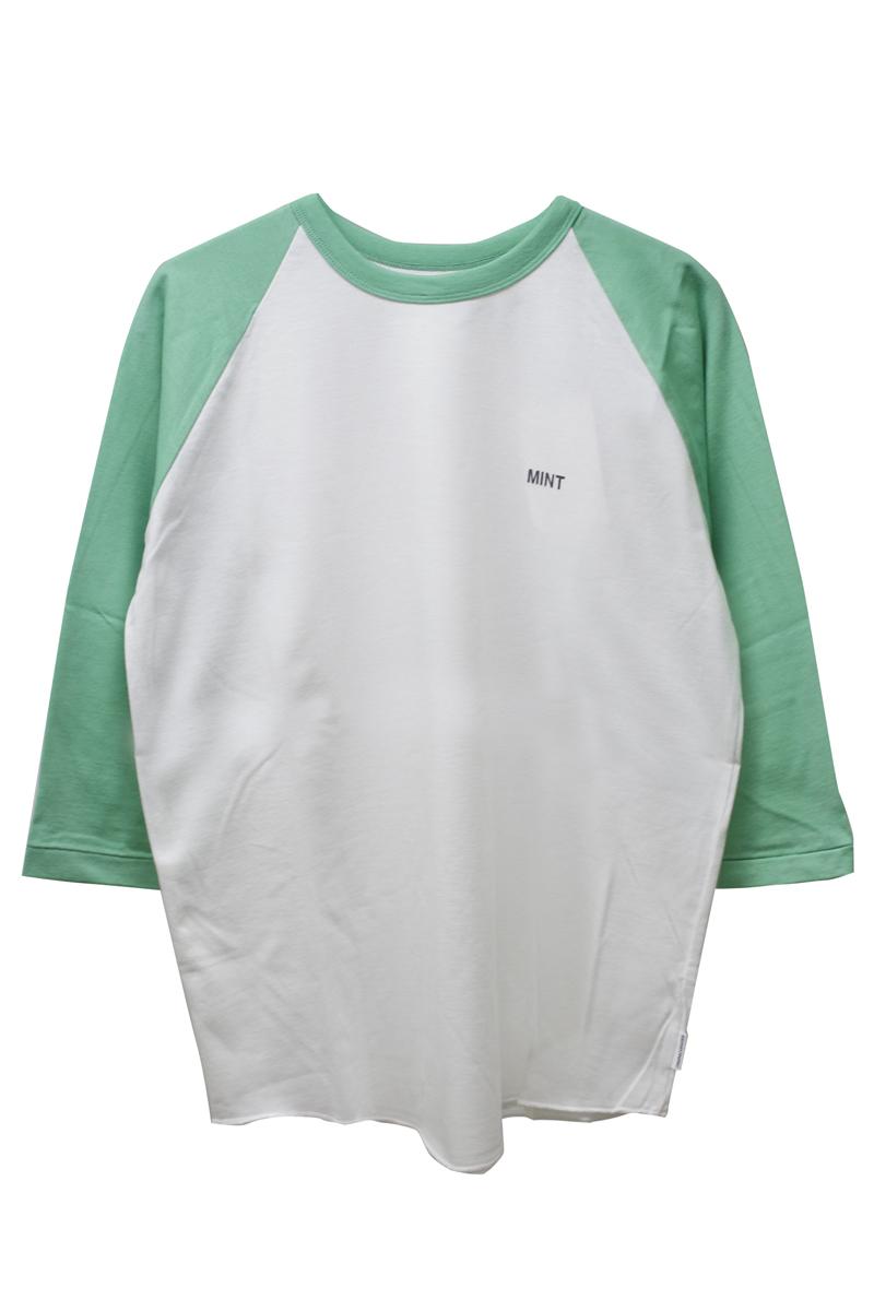 SEASONING スパイスカラーラグラン7分袖Tシャツ