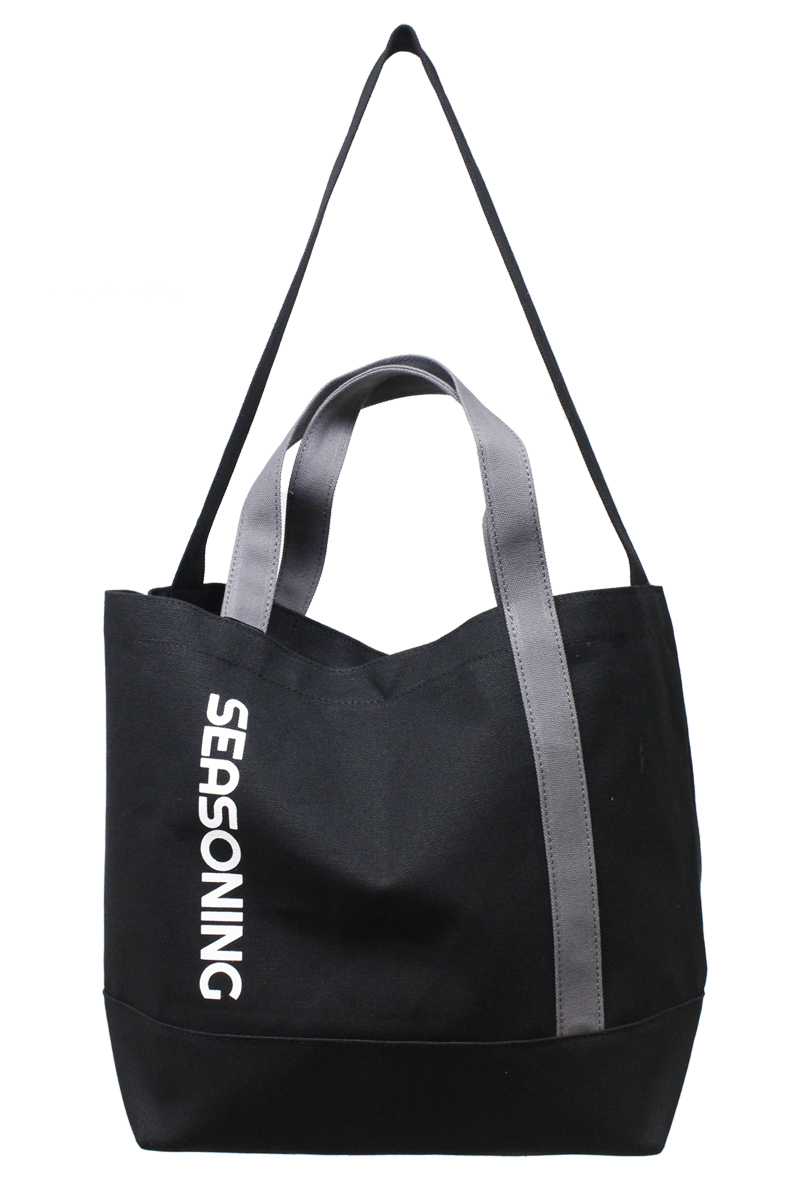 SEASONING 【50%OFF】SEASONINGキャンバスBIGトートバッグ
