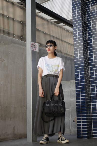 SEASONING ×FRAGMENT Tシャツ [18SS]