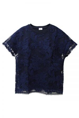 REKISAMI 【40%OFF】レースレイヤードTシャツ【18AW】
