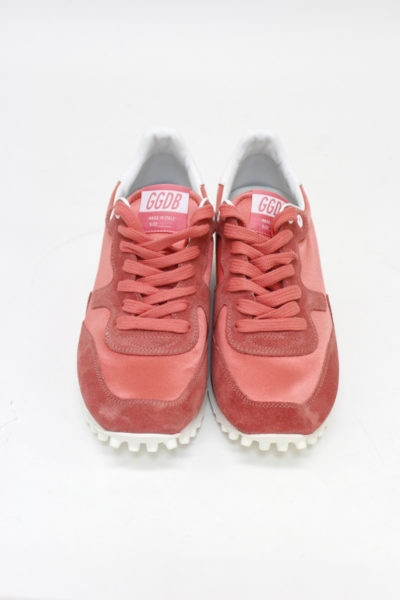 GOLDEN GOOSE DELUXE BRAND スタッドソールスニーカー(STARLAND)(PINK)【18AW】