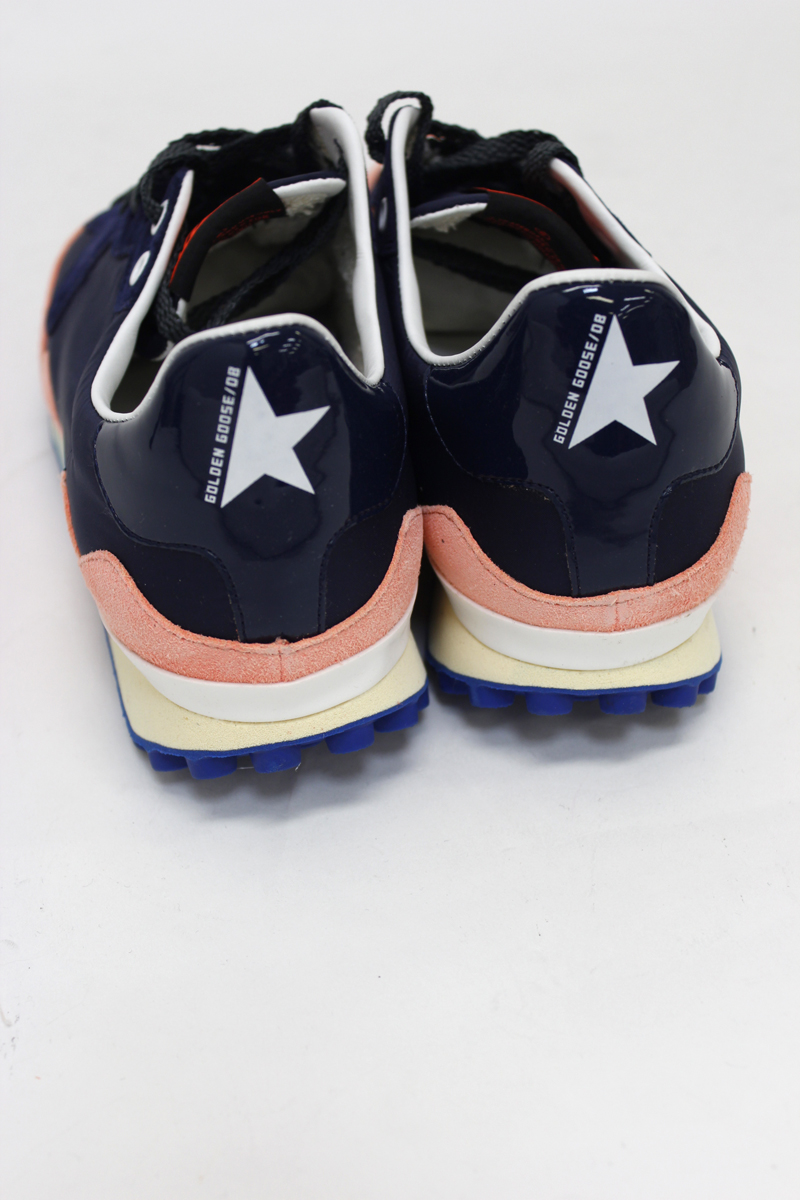 GOLDEN GOOSE DELUXE BRAND スタッドソールスニーカー(STARLAND)(NAVY)【18AW】