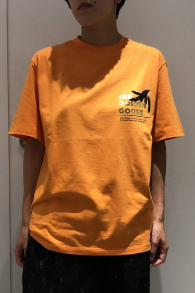 GOLDEN GOOSE DELUXE BRAND 【NEW YEAR SALE - 40%OFF (12/30〜)】ゴールドロゴプリントTシャツ 【18AW】