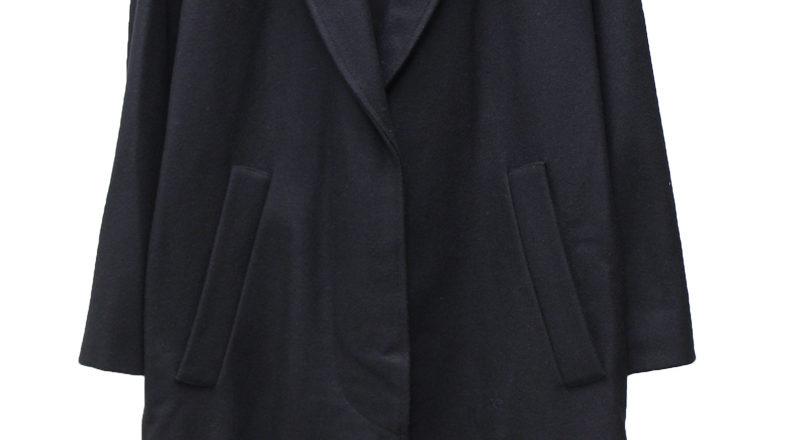 ISABEL MARANT ETOILE ウールカシミア比翼テーラードロングコート【18AW】