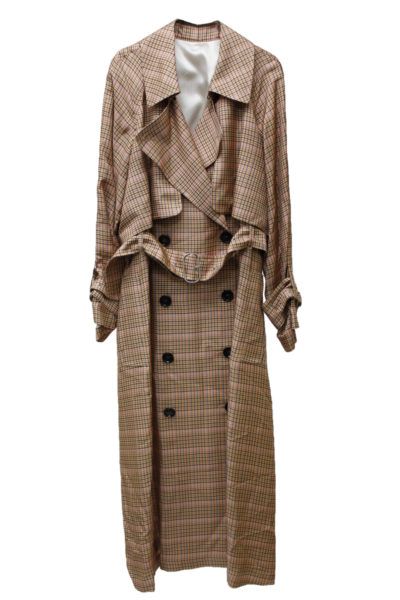 GOLDEN GOOSE DELUXE BRAND 【NEW YEAR SALE-40%OFF (12/30~)】チェックトレンチコート【18AW】