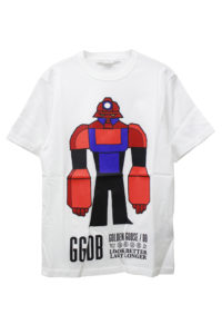 GOLDEN GOOSE DELUXE BRAND ロボットプリントTシャツ【18AW】