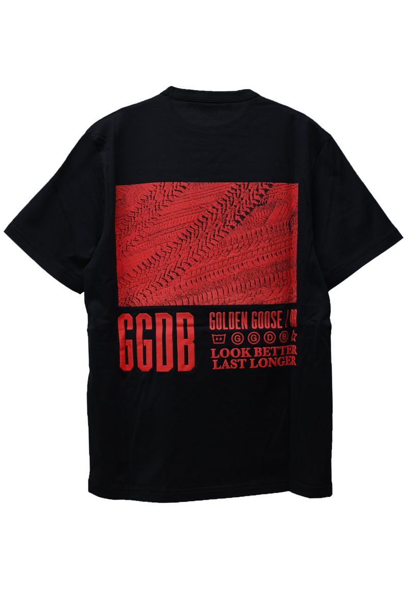 GOLDEN GOOSE DELUXE BRAND 【40%OFF】バックロゴプリントTシャツ【18AW】