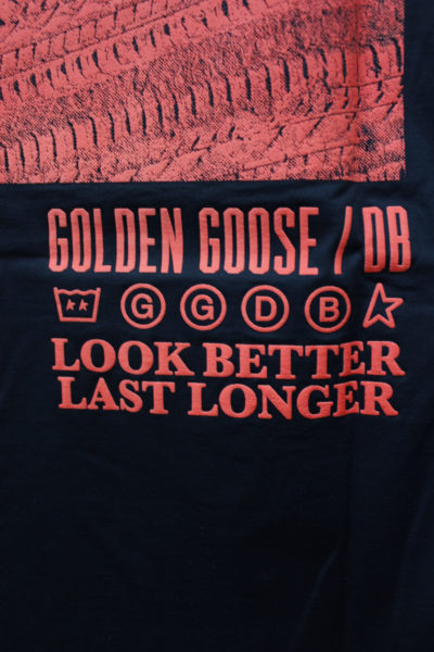 GOLDEN GOOSE DELUXE BRAND 【NEW YEAR SALE - 40%OFF (12/30〜)】バックロゴプリントTシャツ【18AW】