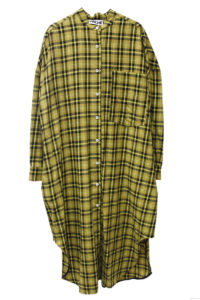 HACHE チェックワンピース【18AW】