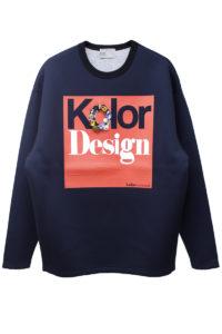 kolor Kolor Designビジュー付スウェットトップス【18AW】