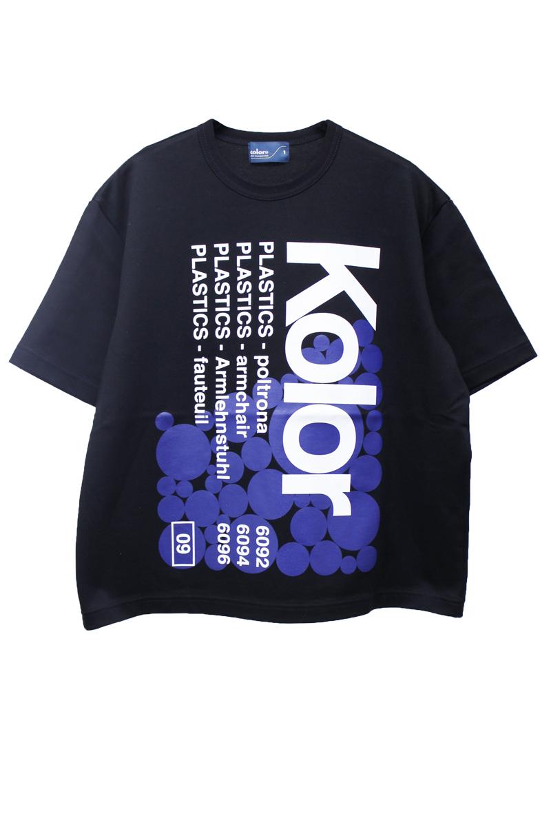kolor ロゴワイドTシャツ
