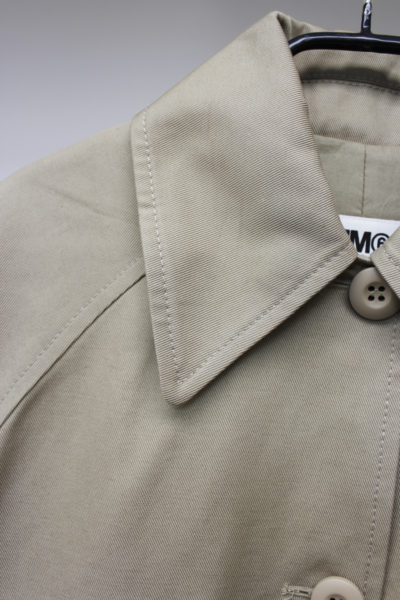 MM6 MAISON MARGIELA コットンステンカラーBIGコート【18AW】