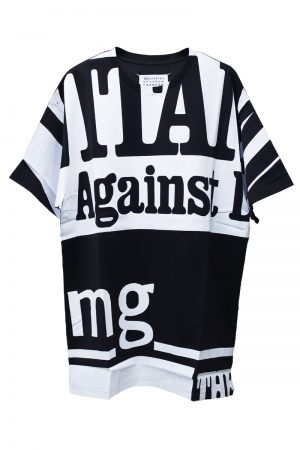 MAISON MARGIELA 【40%OFF】Against mg Tシャツ [18AW]