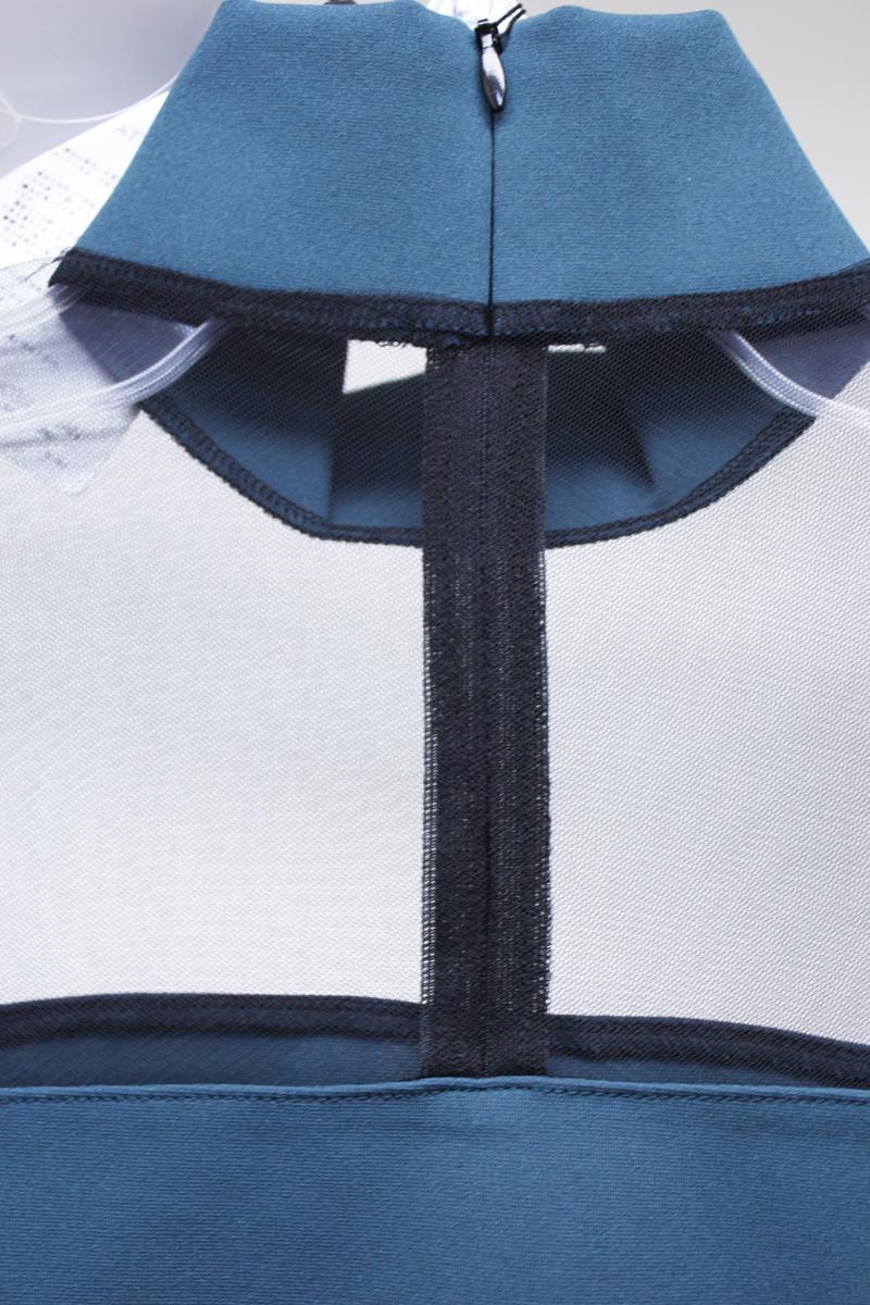 JOHN LAWRENCE SULLIVAN 【40%OFF】メッシュ切替ハイネック長袖カットソー【18AW】