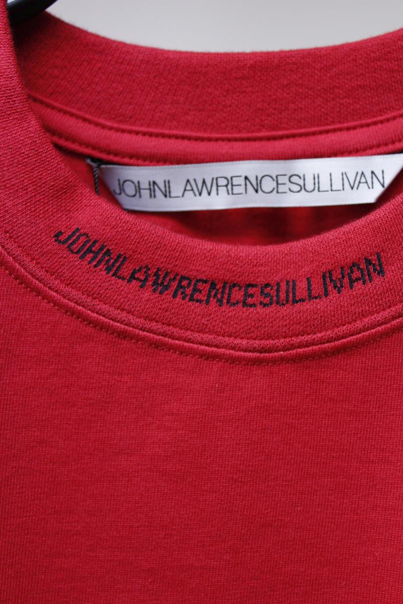JOHN LAWRENCE SULLIVAN 【40%OFF】ロゴネックロングTシャツ【18AW】