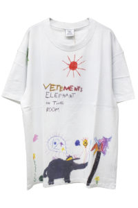 VETEMENTS ELEPHANT RED SUN Tシャツ【18AW】