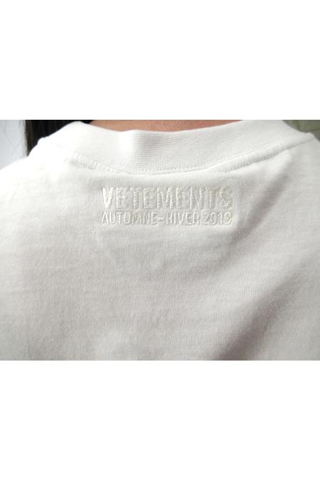 VETEMENTS 【50%OFF】TOURIST TシャツNY