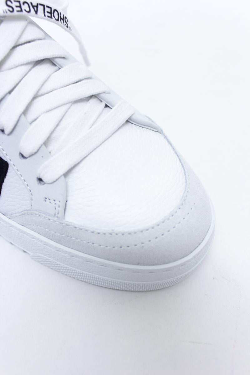OFF-WHITE 【40%OFF】キャリーオーバーローカットスニーカー(WHITE)【18AW】