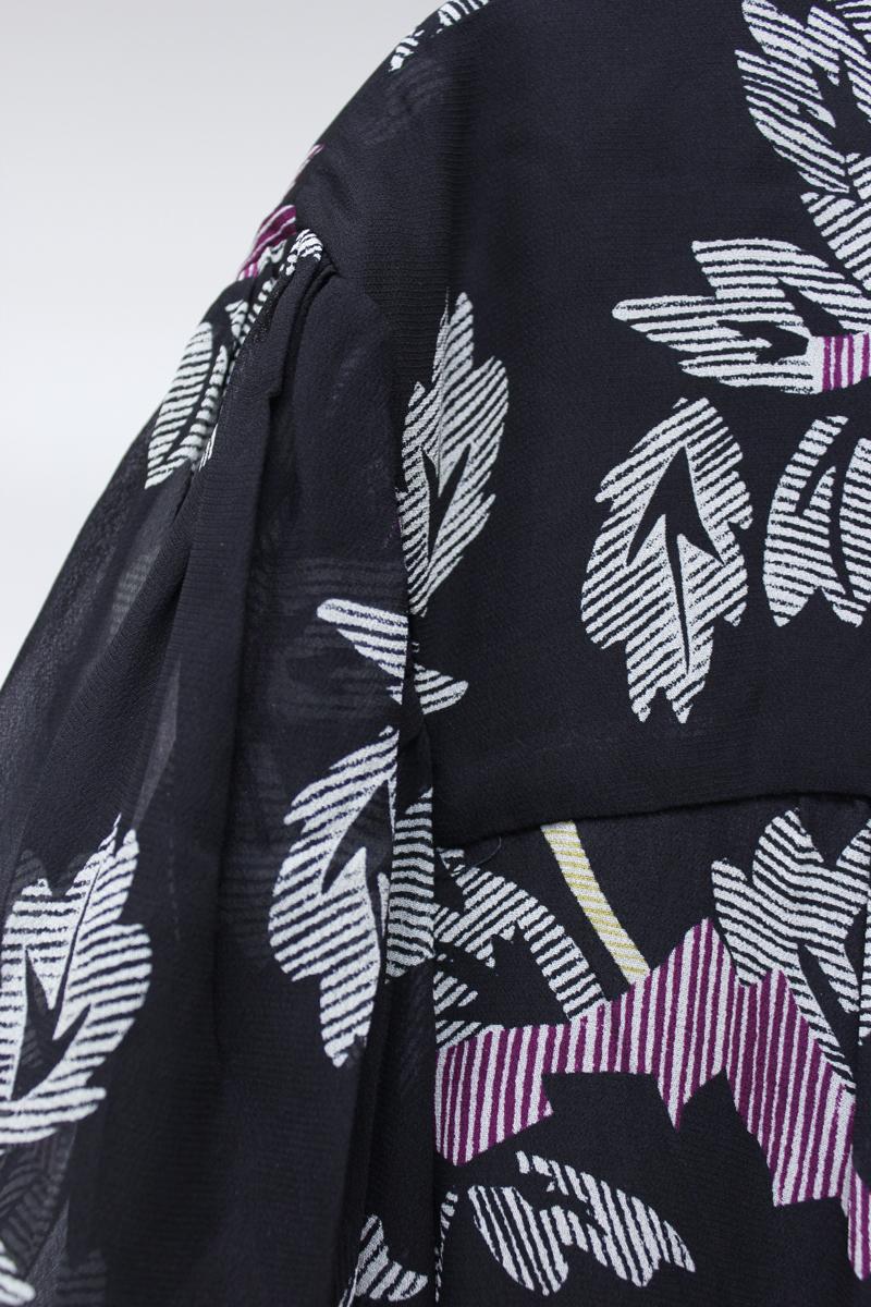 ISABEL MARANT ETOILE 【40%OFF】フラワープリント裾ギャザーブラウス