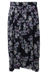 ISABEL MARANT ETOILE フラワープリントギャザーロングスカート【18AW】